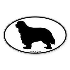 Cavalier King Charles Oval Decal