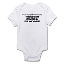 There's No Crying in Beading Infant Bodysuit