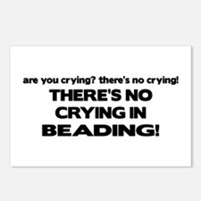 There's No Crying in Beading Postcards (Package of