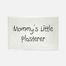 Mommy's Little Plasterer Rectangle Magnet