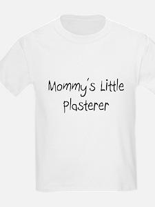 Mommy's Little Plasterer T-Shirt