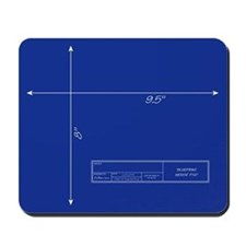 Blueprint Mousepad