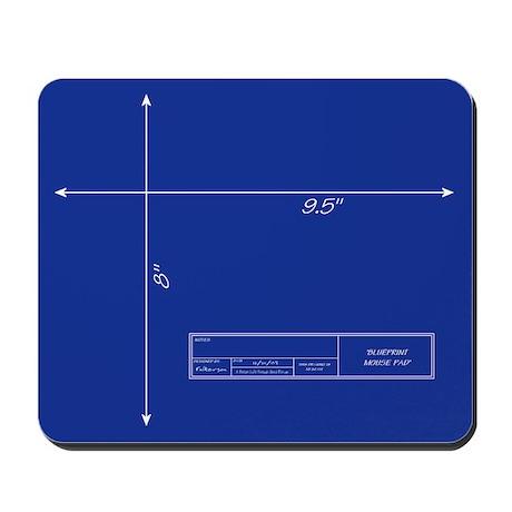 Blueprint Mousepad