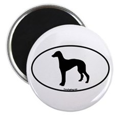 Greyhound Oval Magnet