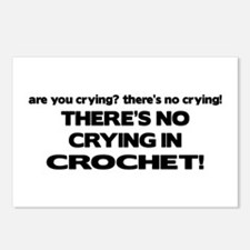 There's No Crying in Crochet Postcards (Package of
