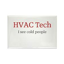 HVAC Rectangle Magnet (10 pack)