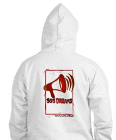 Unique Red house records Hoodie