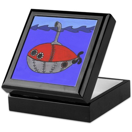 Submarine Keepsake Box