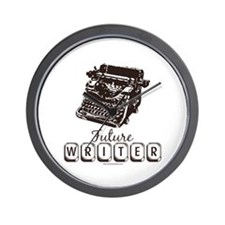 Future Writer Aspring Author Wall Clock