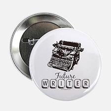 """Future Writer Aspring Author 2.25"""" Button"""