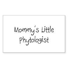 Mommy's Little Phytologist Rectangle Sticker