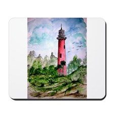 jupiter florida lighthouse fi Mousepad