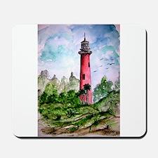 jupiter florida lighthouse fi Mousepad