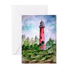 jupiter florida lighthouse fi Greeting Card