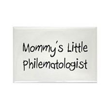 Mommy's Little Philematologist Rectangle Magnet