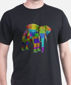 Rainbow Elephant T-Shirt