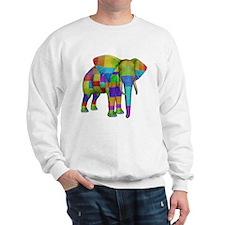 Rainbow Elephant Sweatshirt
