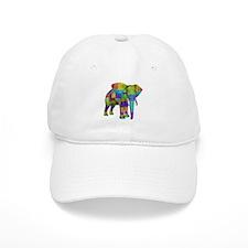 Rainbow Elephant Baseball Baseball Cap