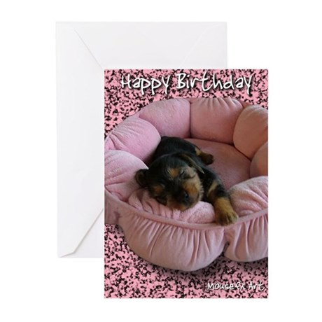 Yorkie Greeting Cards (Pk of 10)