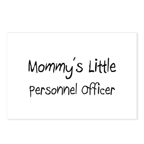 Mommy's Little Personnel Officer Postcards (Packag