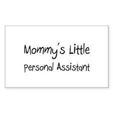 Mommy's Little Personal Assistant Decal