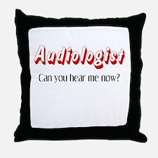 Audiologist Throw Pillow