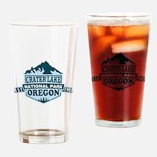 Crater Lake - Oregon Drinking Glass