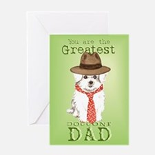Maltese Father's Day Greeting Card