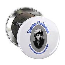"""Bessie Coleman 2.25"""" Button"""