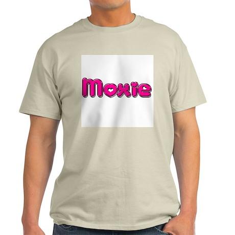 Moxie Ash Grey T-Shirt