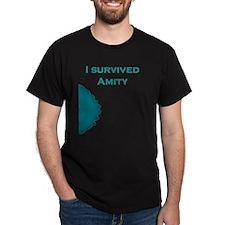 I Survived Amity - Blue T-Shirt