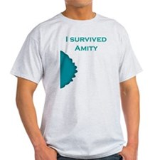 I Survived Amity - Blue T-Shirt