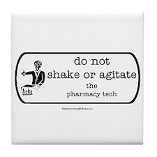 shake or agitate pt Tile Coaster
