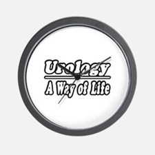 """Urology: A Way of Life"" Wall Clock"
