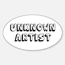 Unknown Artist Decal