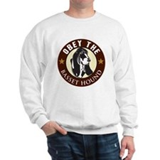 Obey The Basset Hound Sweatshirt