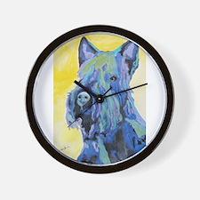A Scottish Terrier Wall Clock