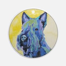 A Scottish Terrier Keepsake (Round)