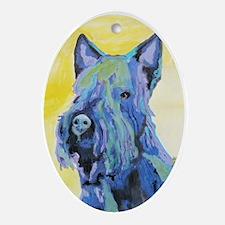 A Scottish Terrier Keepsake (Oval)