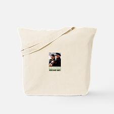 Merchant Navy Tote Bag