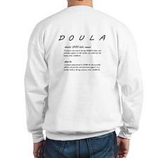 DOULAS do it with heart! Sweatshirt