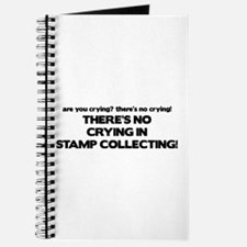 There's No Crying Stamp Collecting Journal
