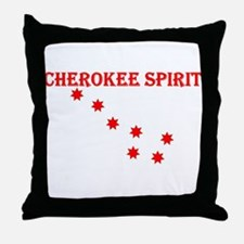 Cute Cherokee Throw Pillow