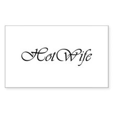 Hotwife Rectangle Decal