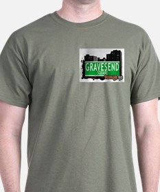 GRAVESEND SQUARE, BROOKLYN, NYC T-Shirt