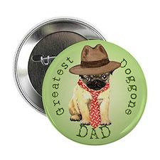 """Pug Dad 2.25"""" Button"""