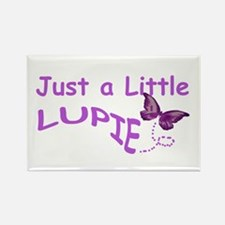 A Little Lupie Rectangle Magnet