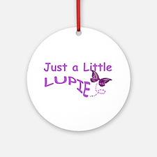 A Little Lupie Ornament (Round)