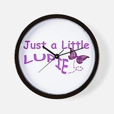 A Little Lupie Wall Clock