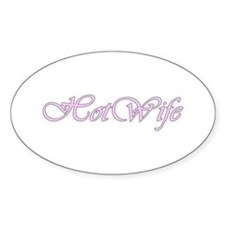 Hotwife Oval Stickers